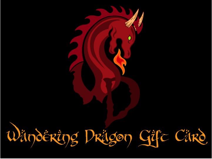 Wandering Dragon Game Shoppe Gift Card