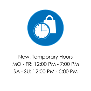 Special Hours will vary. Check our Store Locator page for information about your local store.