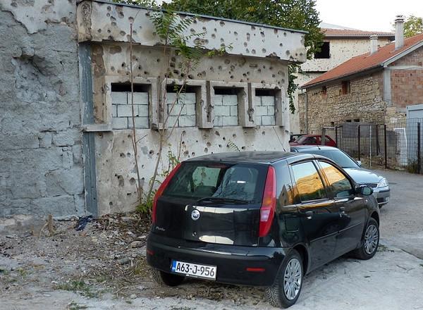 Bullet Holes, Mostar