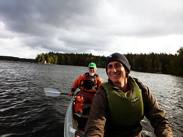Kayaking in Tampere, Finland