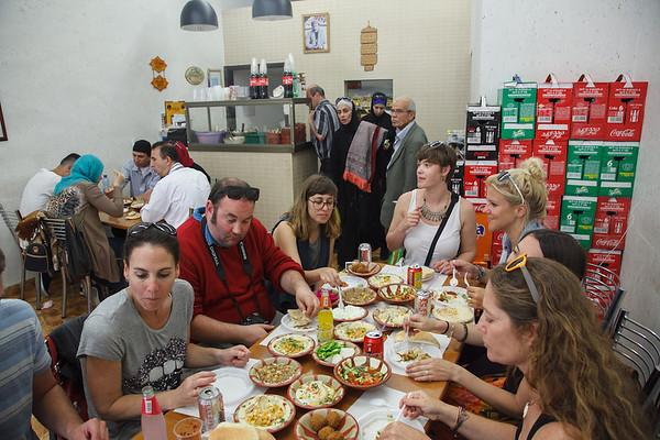 Lunch at Abu Ahmad in Jerusalem