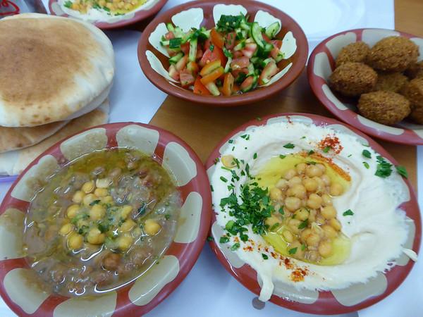 Lunch in Jerusalem