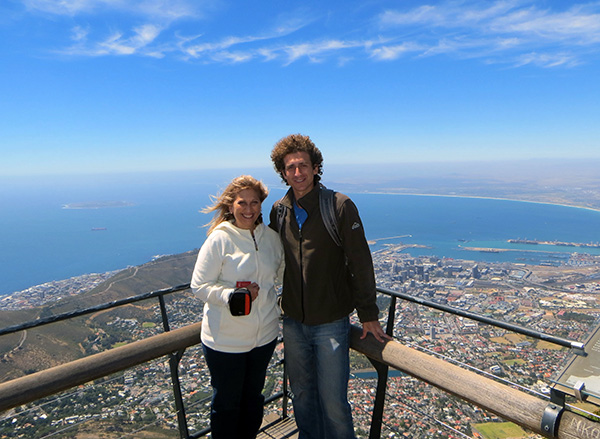 Mom and I from Table Mountain