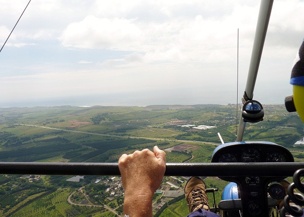 Microlight Flight, Durban, South Africa