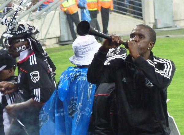 Vuvuzela, Durban Football Match