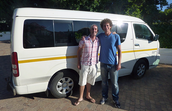Me and Rob from Cape Convoy Tours