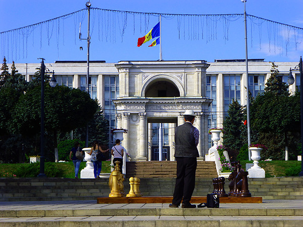 Great Assembly Square, Chisinau