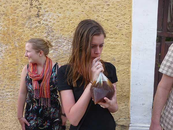 Drinking Tepache