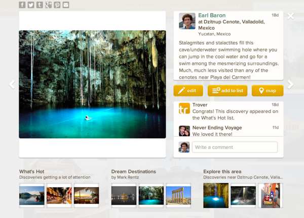 Trover - Dzitnup Cenote