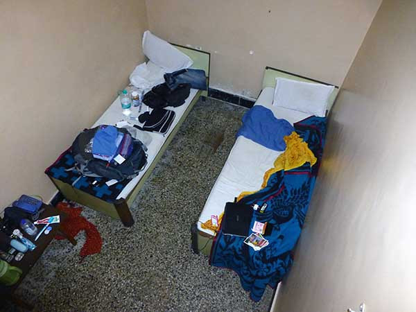 Hostel Room While Traveling