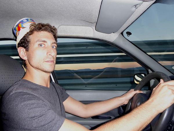 Driving to Sibiu