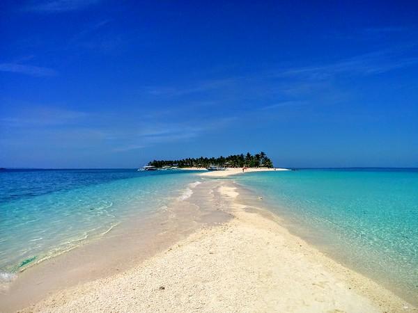 short break on Kalanggaman Island, Philippines