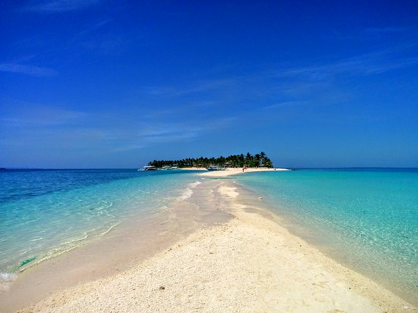 short break on Kalanggaman Island, Philippines