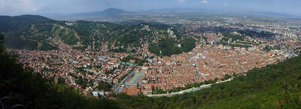 View of Brasov, Romania