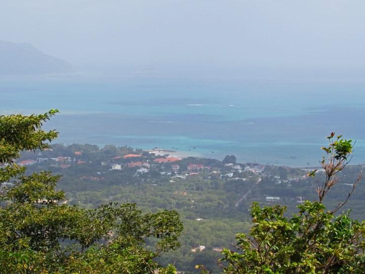 A view of Con Son town