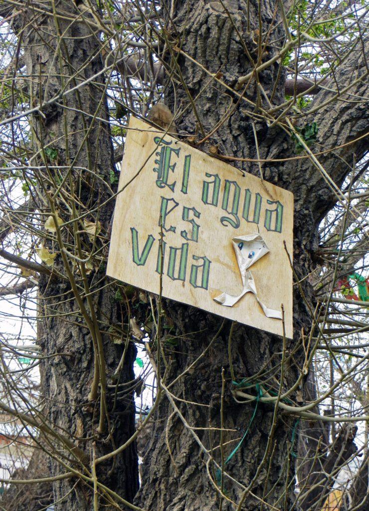 Agua is vida Water is life Bolivia