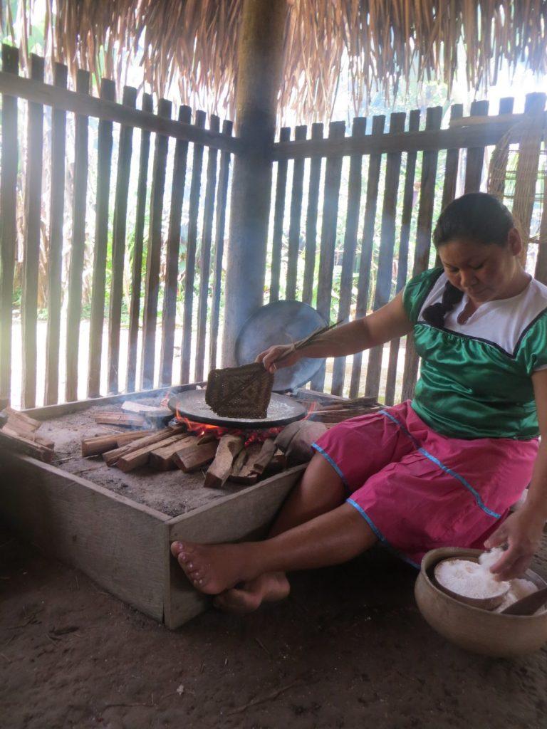 Yucca bread Ecuador vegetarian latin american food
