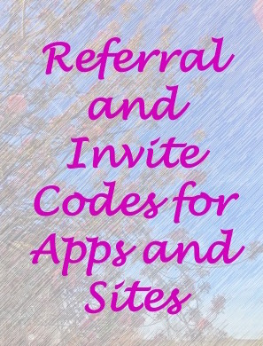 Referral Codes - My Master List - Wandering For Money