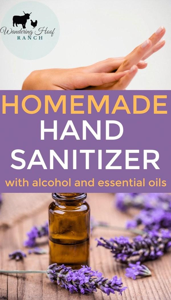 homemade hand sanitizer pin