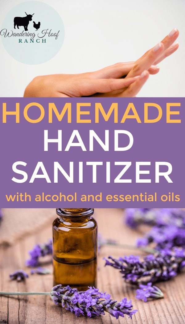 homemade hand sanitizer pin