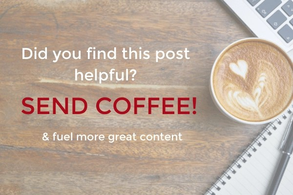 this blog runs on coffee