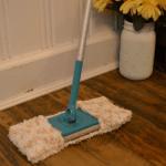 crochet mop cover on swiffer sweeper