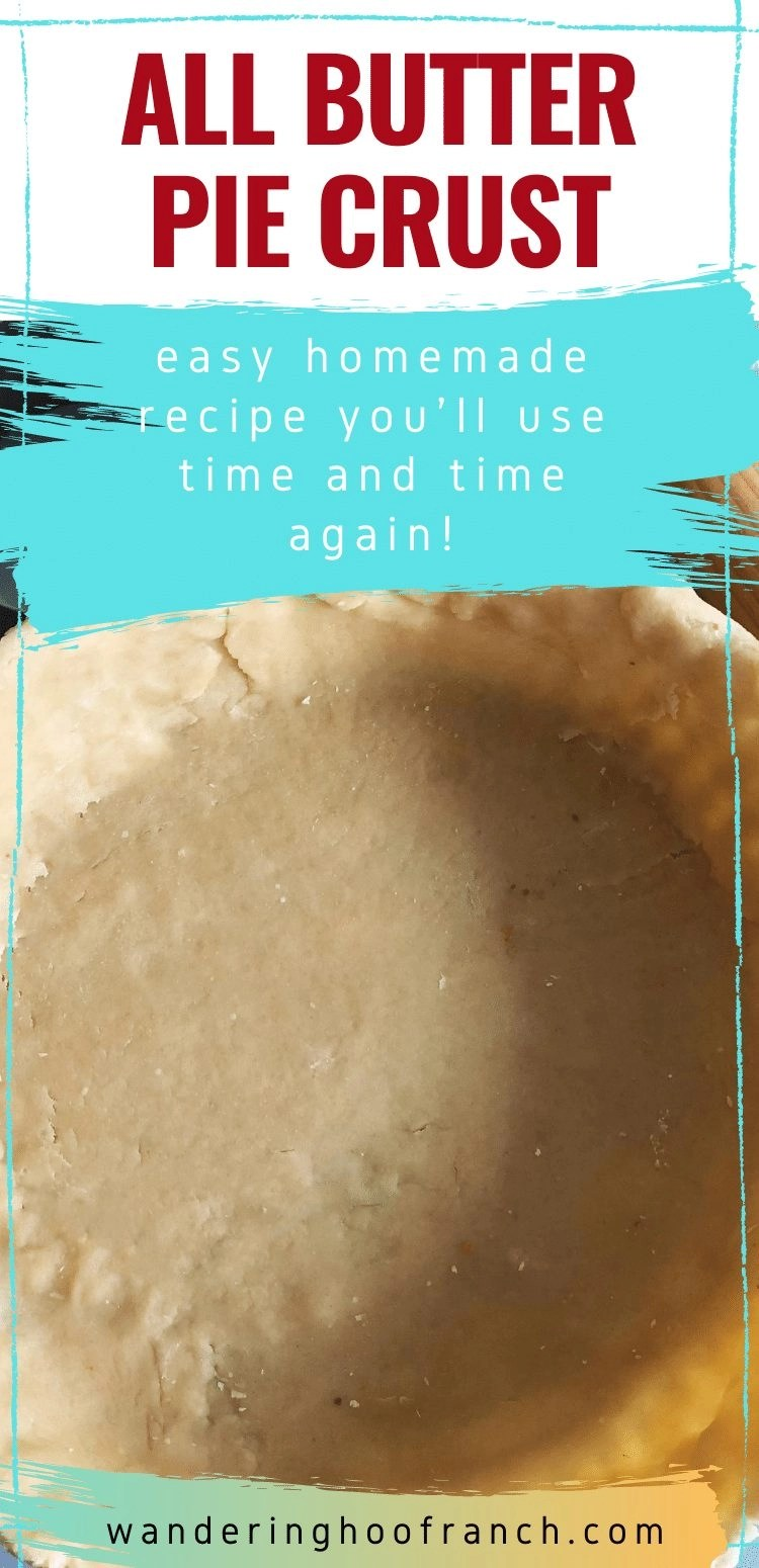 all butter pie dough recipe