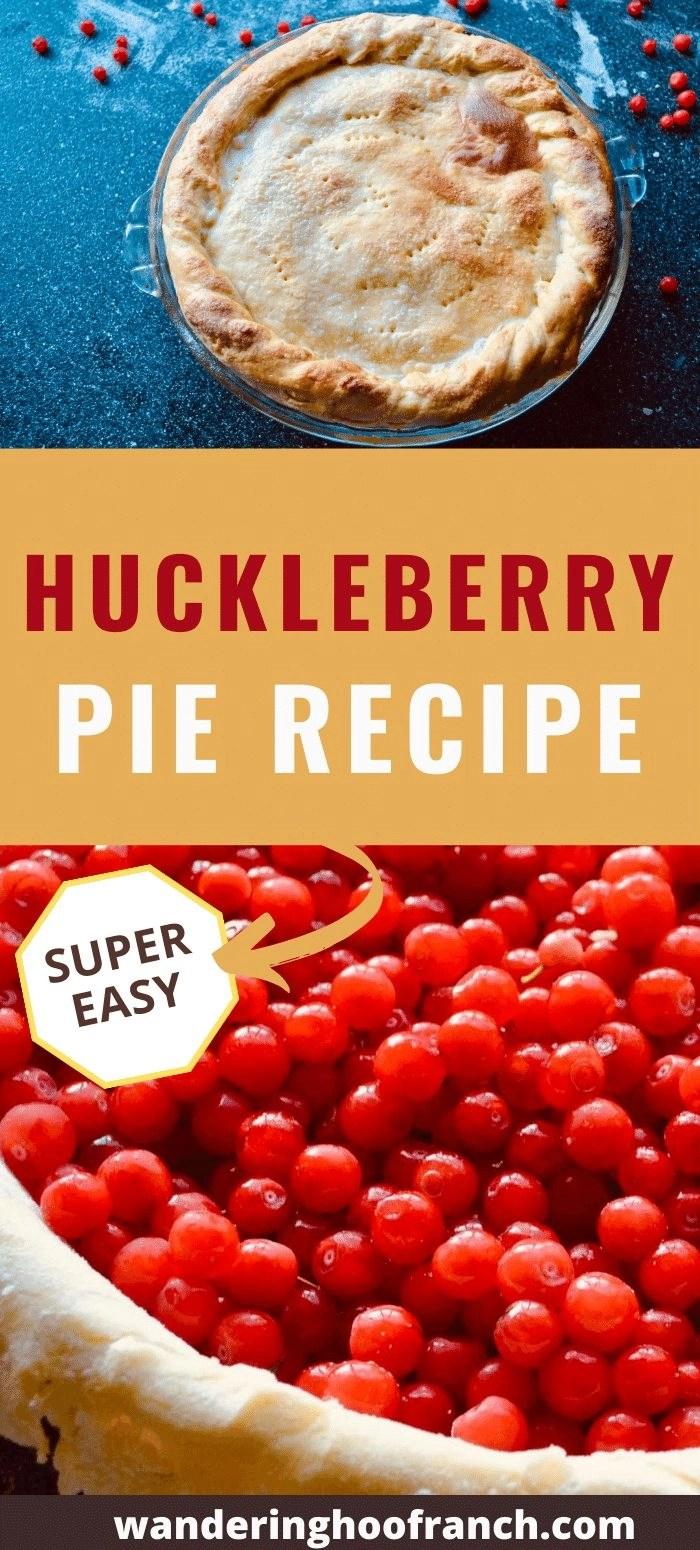 huckleberry pie pin image