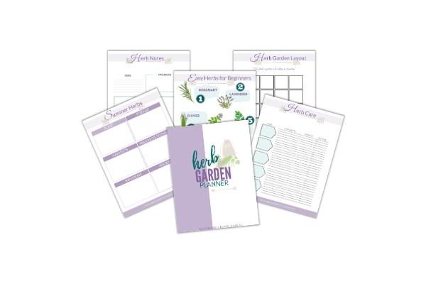 herb garden planner pages