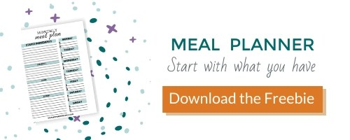 meal planner opt in box