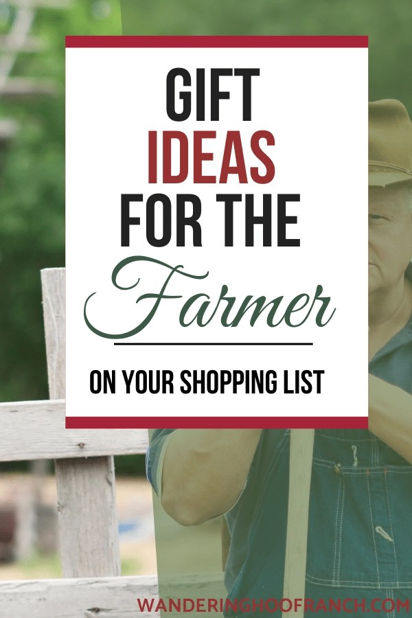 gift ideas for the farmers on your shopping list