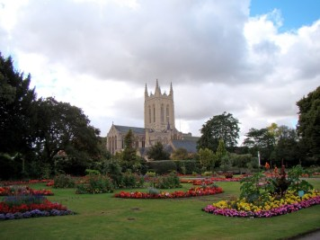 Around Great Britain in 30 Days: Day 4,  A Visit to Ely and Bury St. Edmunds