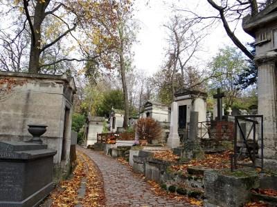 Père Lachaise Cemetery, Paris, France.