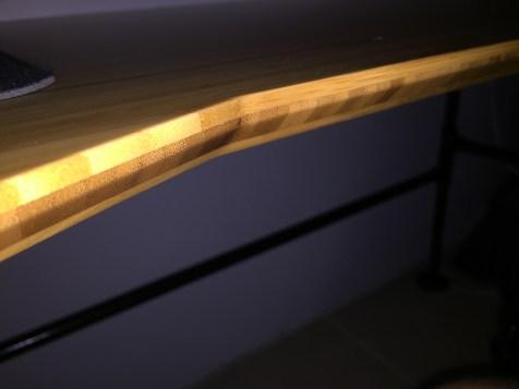 Bamboo Beveled Edge Details