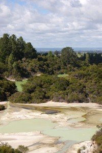 A long shot of Waiotapu