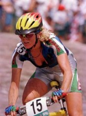 Paola Pezzo was a good bet to win everytime she lined up at the start.