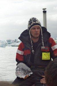 Ice, guide, jokullsarlon
