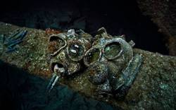 truk lagoon gas mask ghost fleet