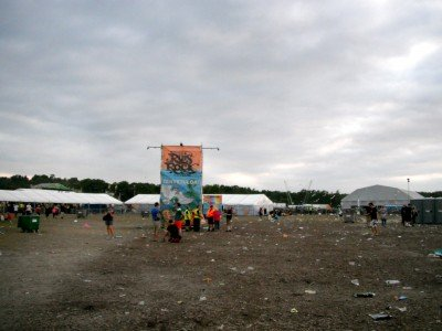 Certain parts of Ruis Salo and Turku aren't very pretty. Like the trash no man's land at Ruisrock.