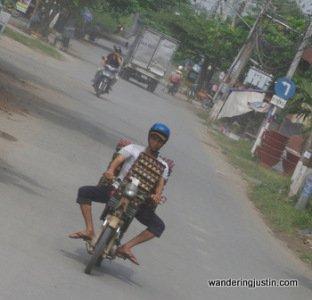 Vietnamese motorbike