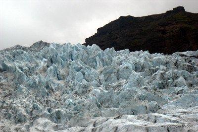 scenes from a glacier