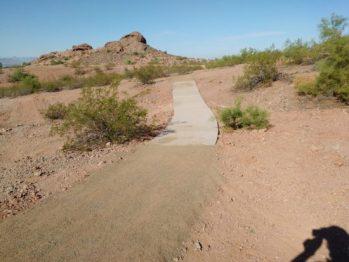 Phoenix destroys papago trails
