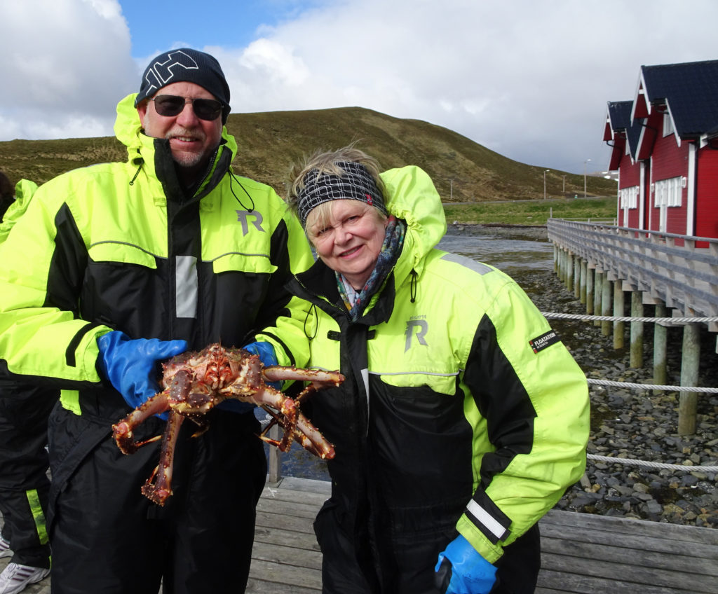 Fishing from Crabs in Northern Norway