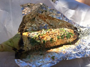 The roasted corn from Un Bien