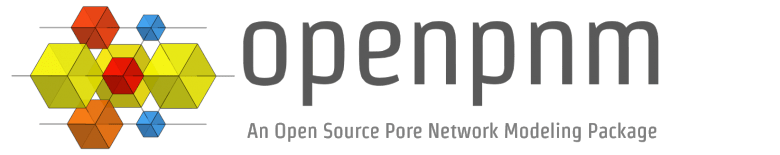 OpenPNM – Pore Network Modeling for Porous Media