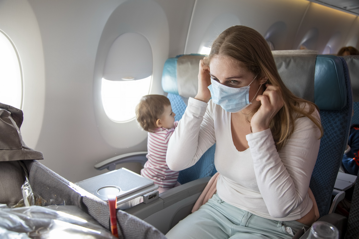 Is It Safe to Fly During COVID? - Wandering Moms