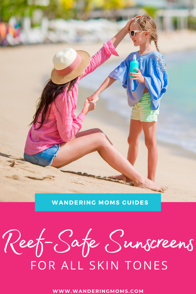 Reef Safe Sunscreens for All Skin Tones