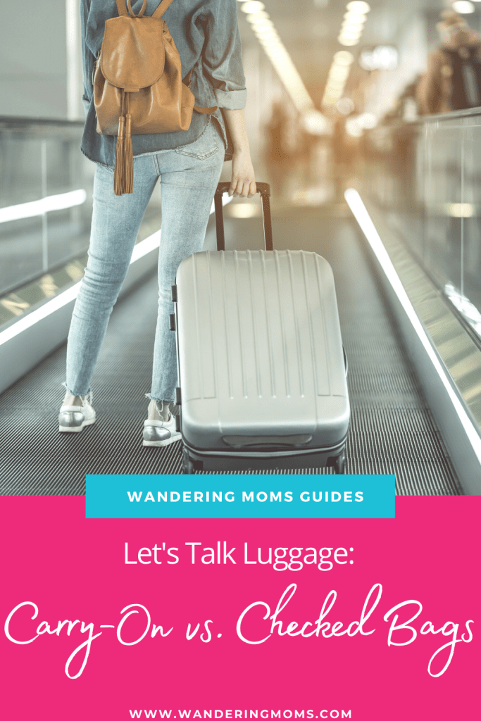 Let's Talk Luggage: Carry-On vs. Checked Bags