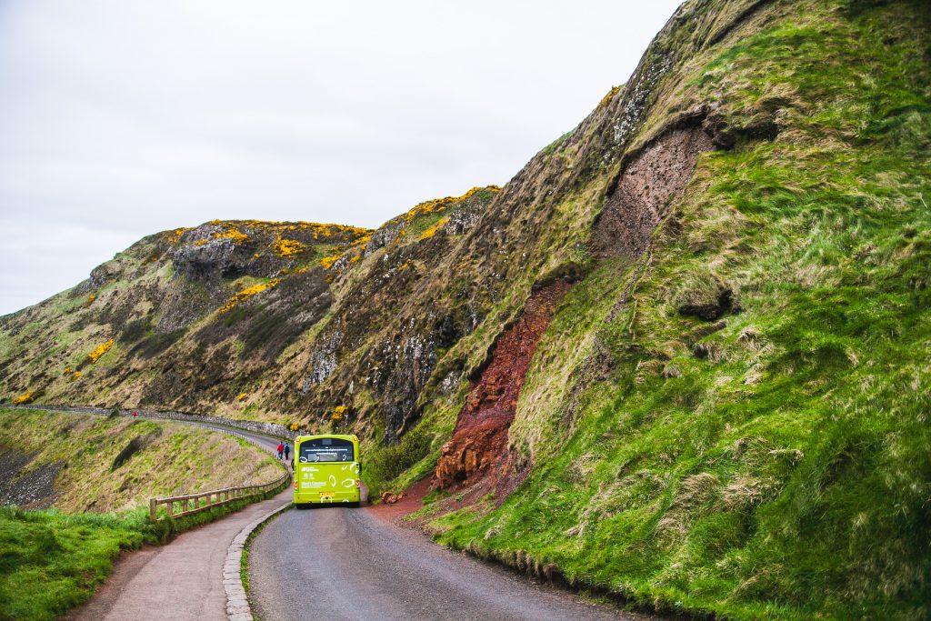 tour bus in northern ireland