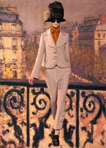 Luis Vitton X Gustave Caillebotte